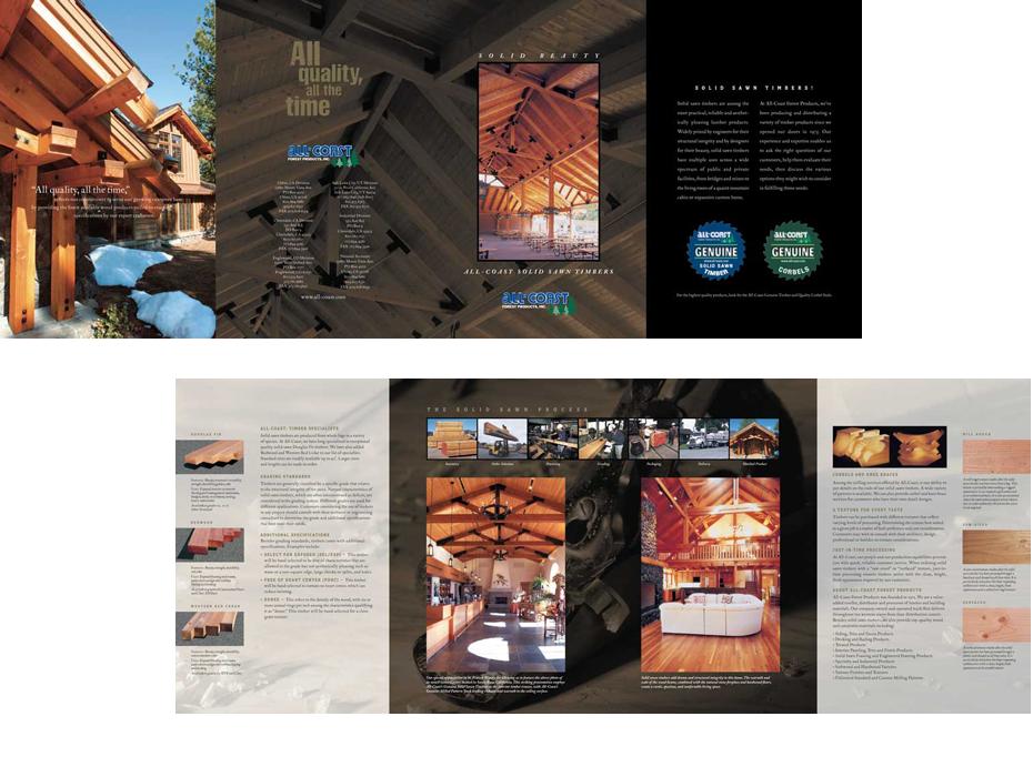 All Coast Lumber Graphic Design