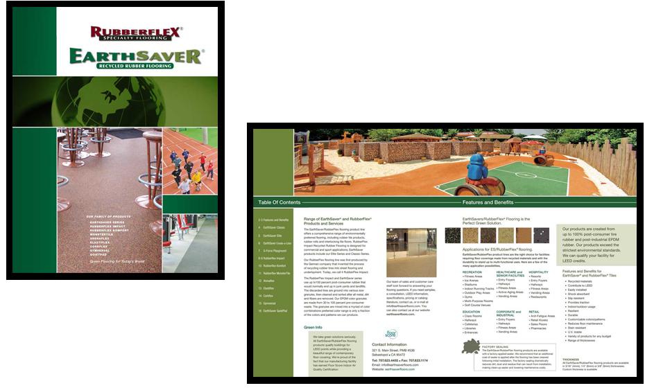 Langhorn Flooring Graphic Design
